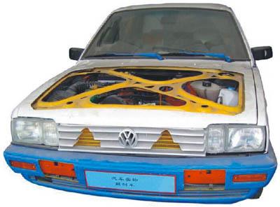 YUY-98D型整车剖解模子
