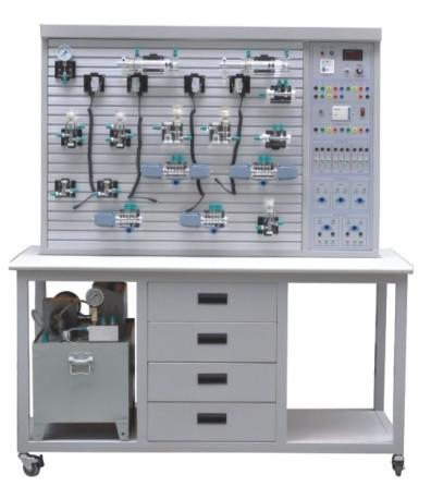 透明液压传动演示系统图片