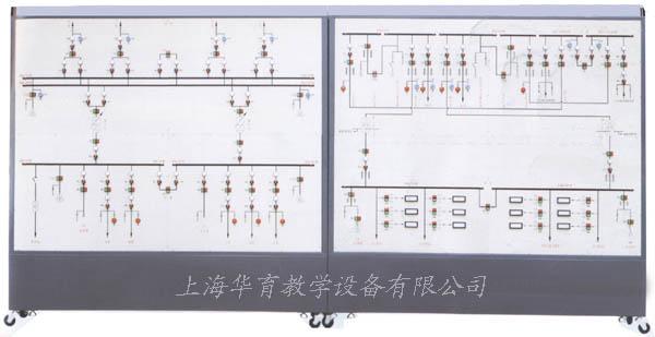 hydb-05型35kv变电站及10kv供配电系统倒闸操作实训